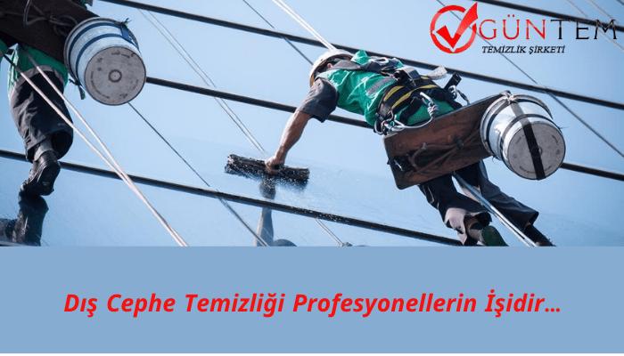 dis cephe cam temizligi hizmet - Bakırköy Temizlik Şirketi