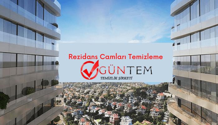 Rezidans camları temizleme silme işlemleri