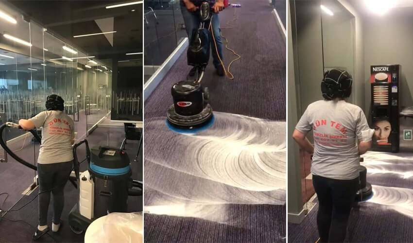 zemin temizligi calismalari - Dış Cephe Cam Temizliğinde Kurumsal Hizmet
